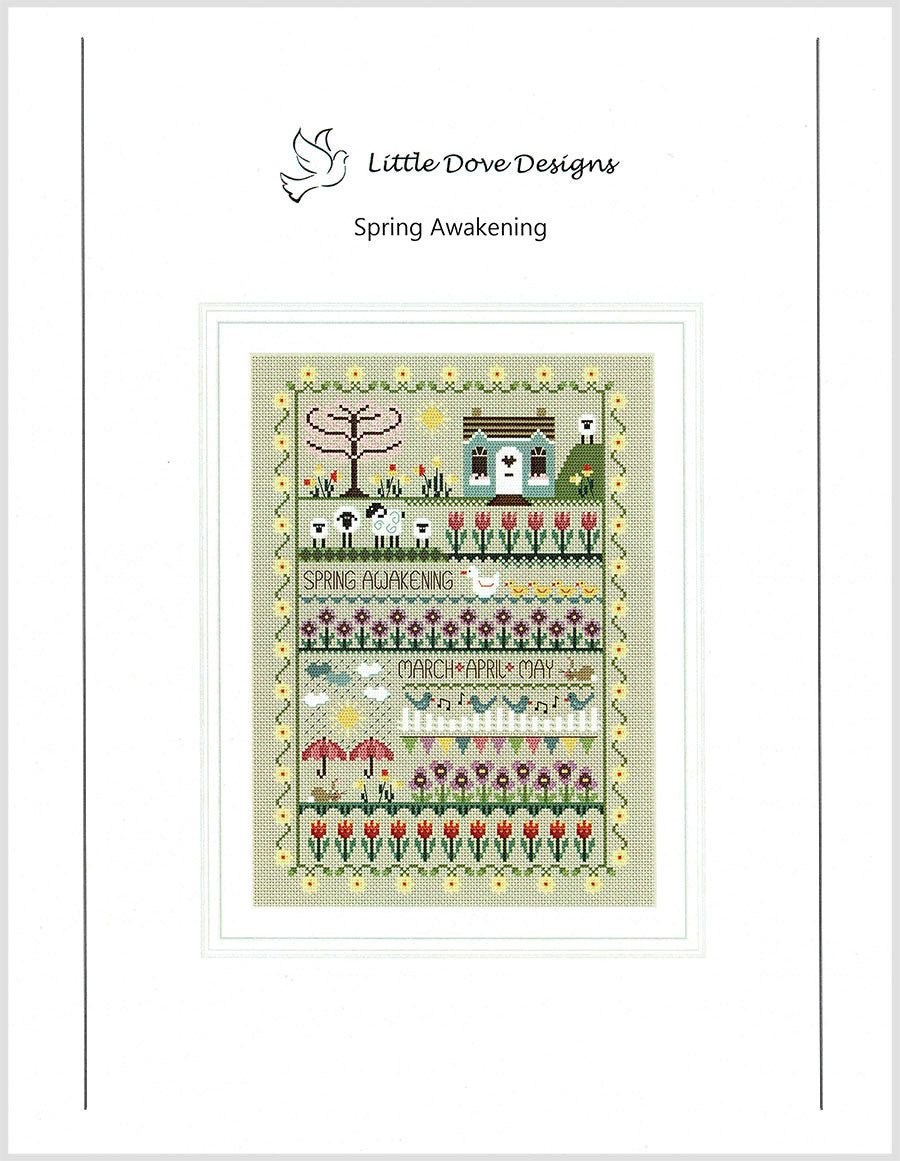 Spring Awakening Cross Stitch Pattern