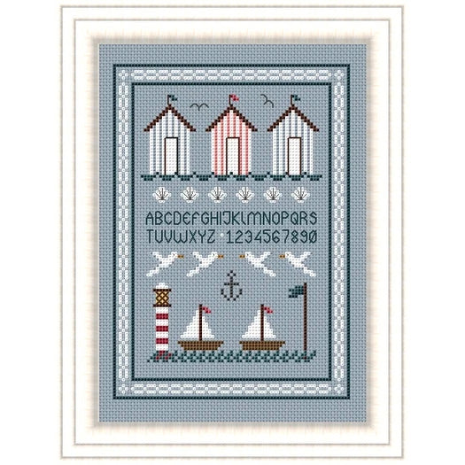 Seaside Cross Stitch Pattern