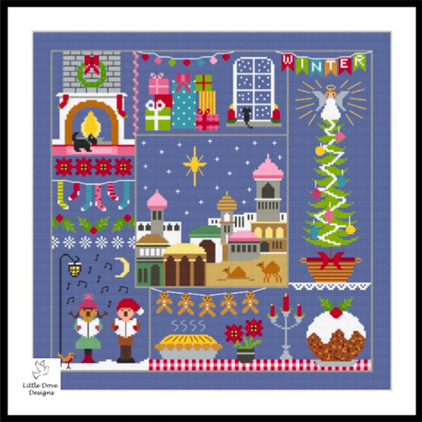 A Stitch for All Seasons Winter Cross Stitch Pattern
