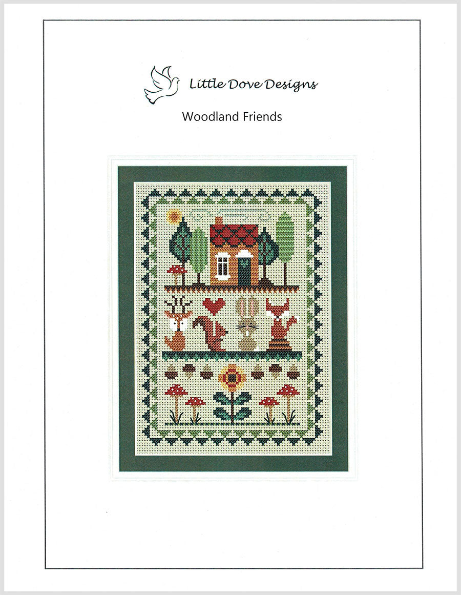 Woodland Friends Cross Stitch Pattern