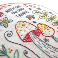 Noticing the Little Things Hand Embroidery Kit