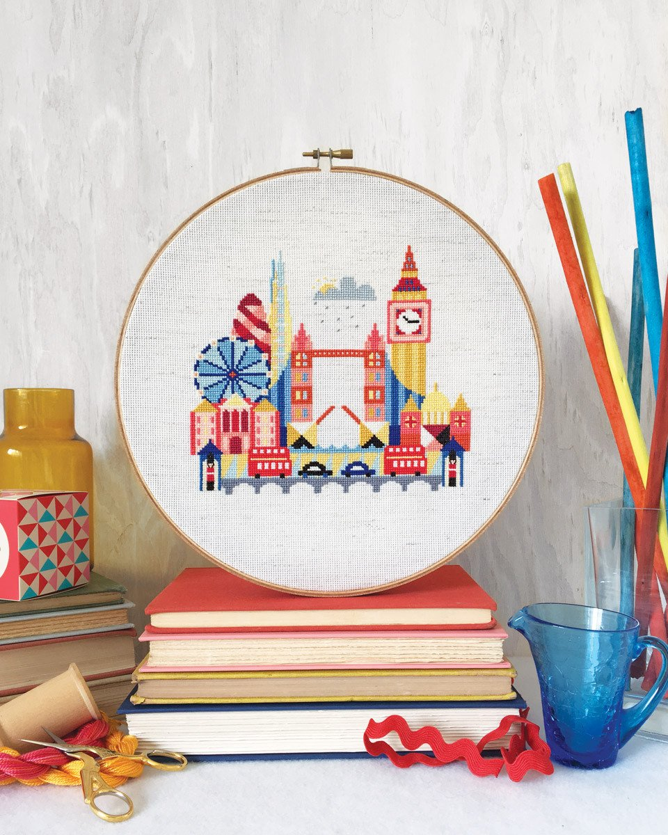 Pretty Little London Cross Stitch Pattern