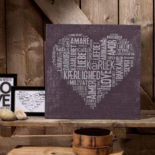 Love Typography Cross Stitch Kit