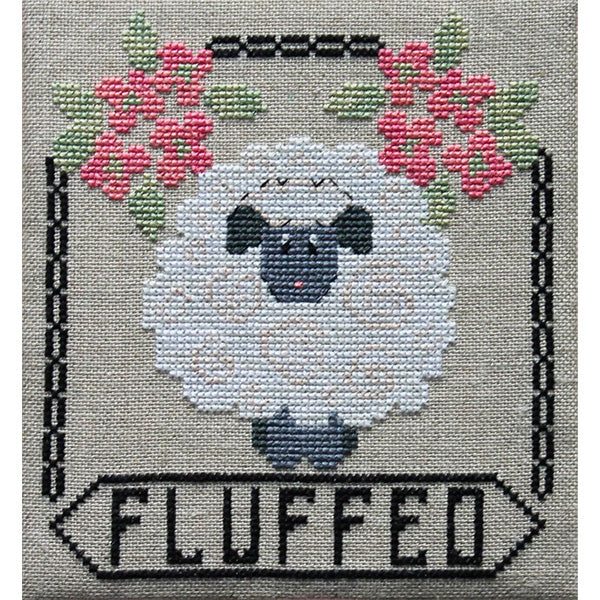 Fluffed Cross Stitch Pattern