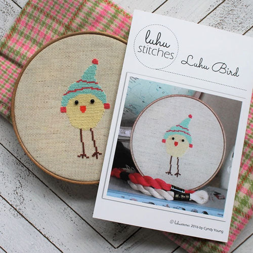 Luhu Yellow Bird Cross Stitch Pattern