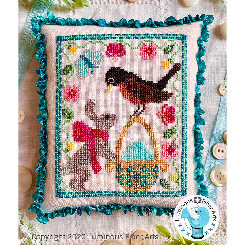 A Robin's Discovery Cross Stitch Pattern