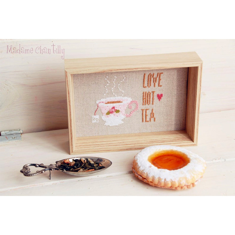 Jasmine Tea Cross Stitch Pattern