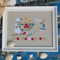 Summer Delivery Cross Stitch Pattern