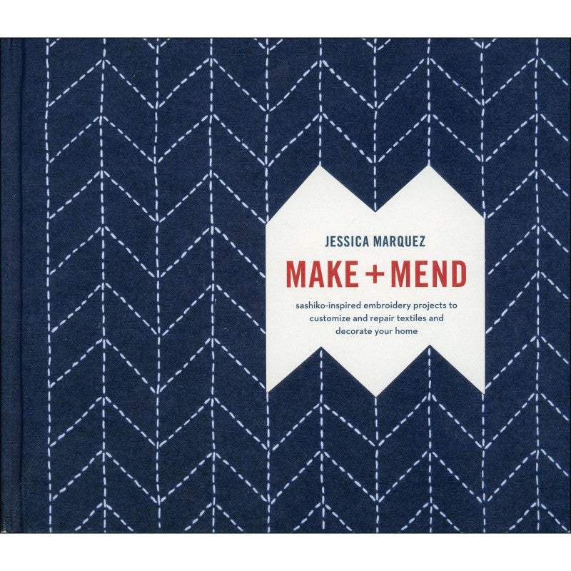 Make + Mend: Sashiko-Inspired Embroidery Projects