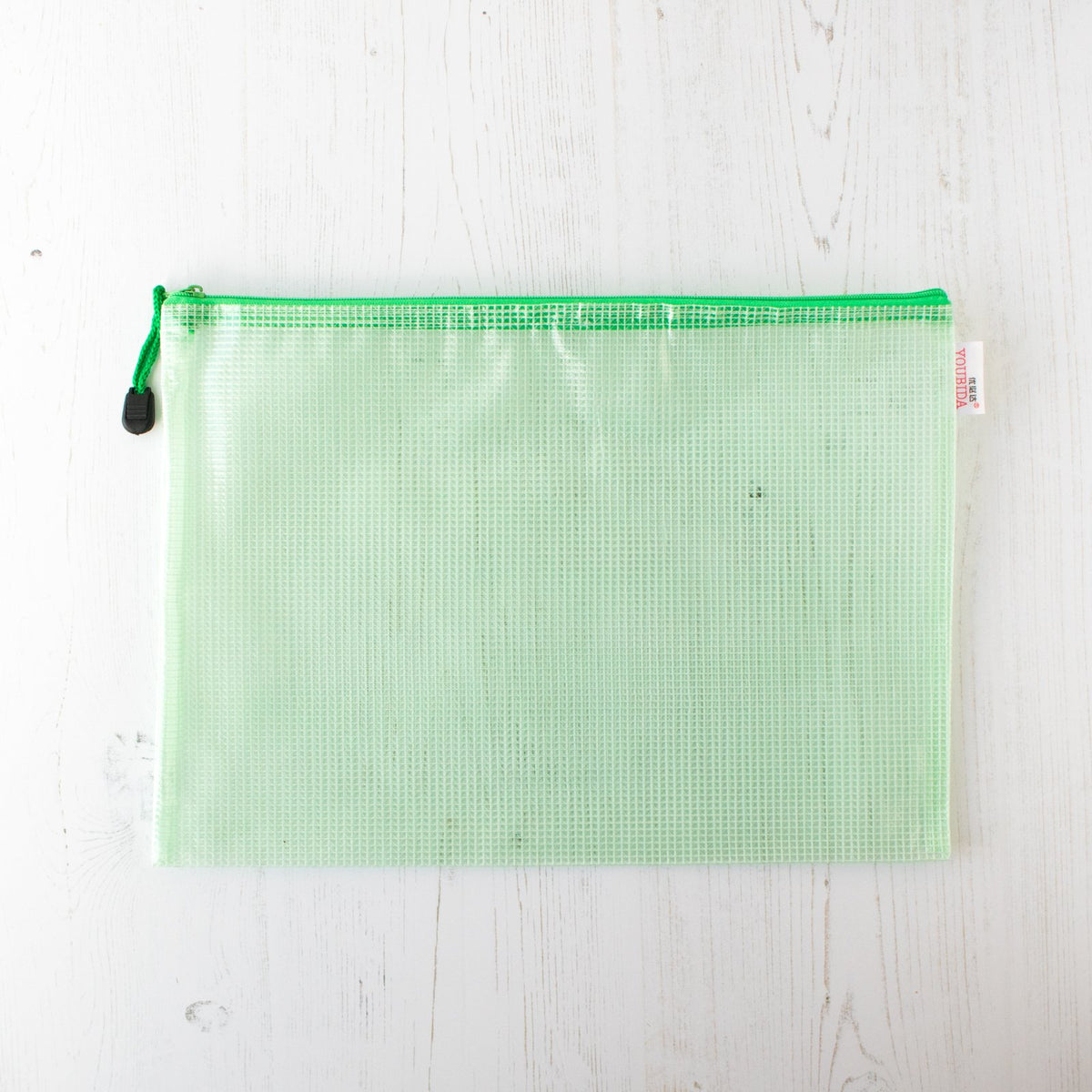 Mesh Zipper Project Bag - Large
