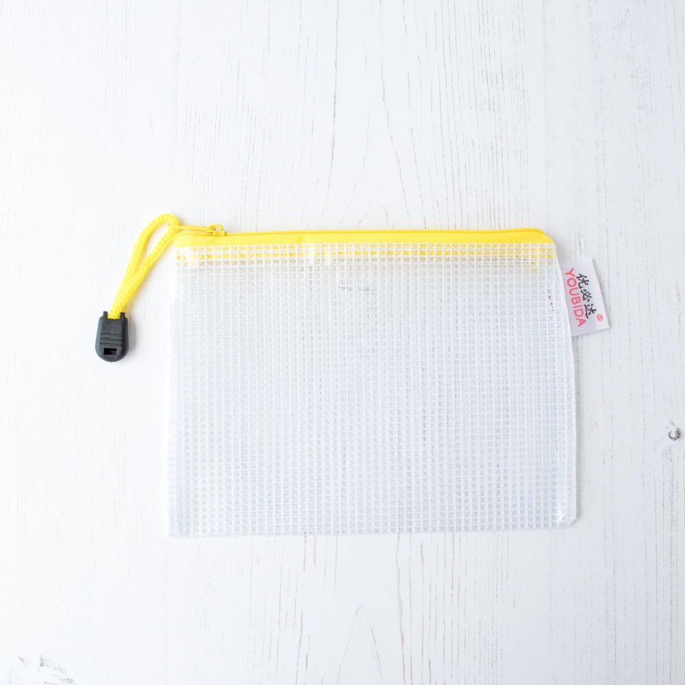 Mesh Zipper Project Bag - Small