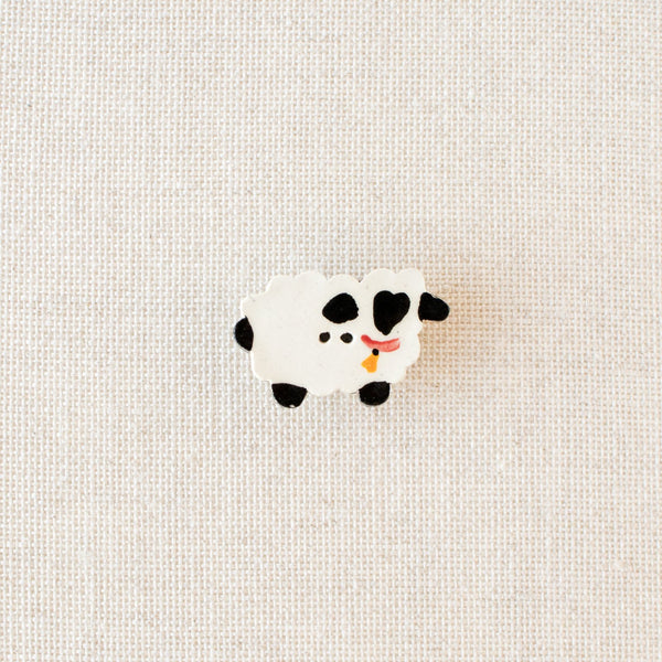 Ceramic Sheep Needle Minder