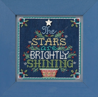 Buttons and Beads Cross Stitch Kit - Brightly Shining