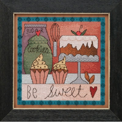 Be Sweet Beaded Cross Stitch Kit (20% OFF)
