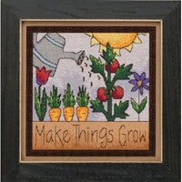 Make Things Grow Beaded Cross Stitch Kit (20% OFF)