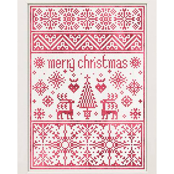 A Small Christmas Sampler Cross Stitch Pattern