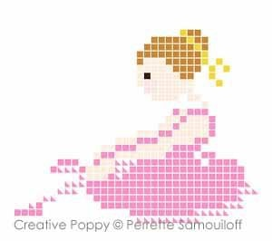 The Ballet Dance Lesson Cross Stitch Pattern (30% OFF)