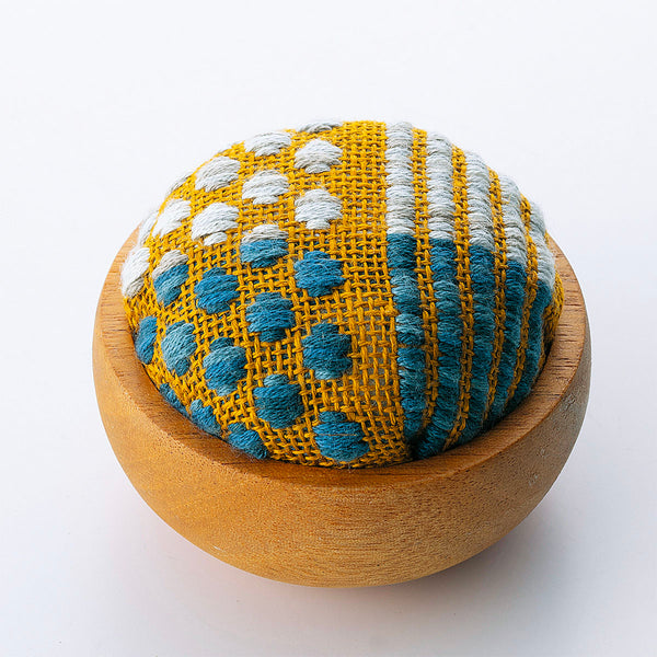 Kogin Embroidery Pincushion Bowl Kit