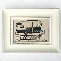 Greetings from Camp Shasta - Cross Stitch Pattern
