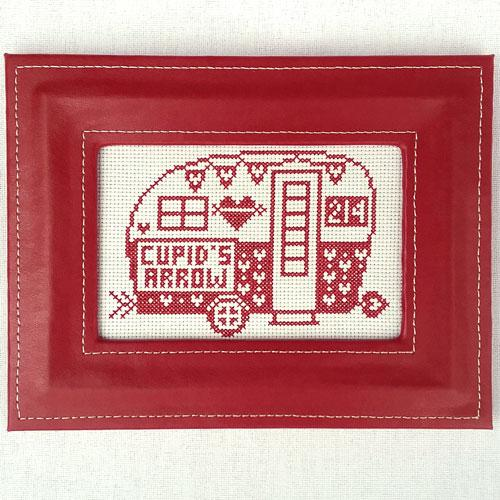 Greetings from Cupid's Arrow - Cross Stitch Pattern