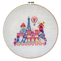 Pretty Little Paris Cross Stitch Pattern