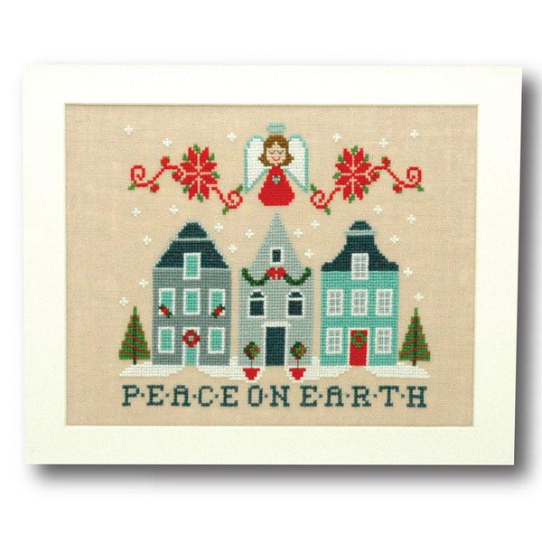 Peace on Earth Cross Stitch Pattern