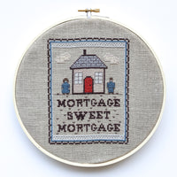 Mortgage Sweet Mortgage Cross Stitch Pattern
