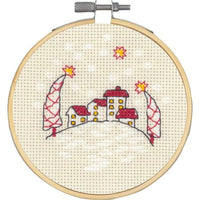 Christmas Houses Cross Stitch Kit