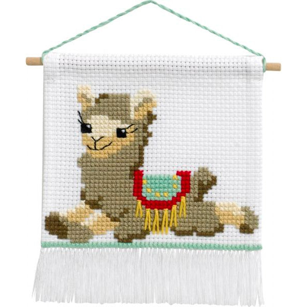 My First Cross Stitch Kit - Llama