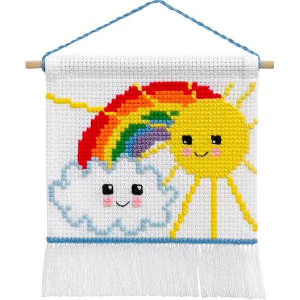 My First Cross Stitch Kit - Sunshine