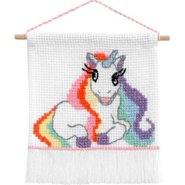 My First Cross Stitch Kit - Unicorn