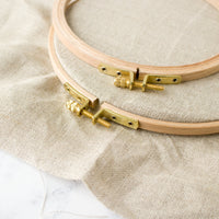 Premium Hard Wood Embroidery Hoops - Thin