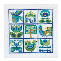 Primavera Spring Sampler Cross Stitch Pattern