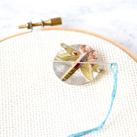 Handcrafted Dragonfly Needle Minder