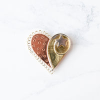 Handcrafted Heart Needle Minder