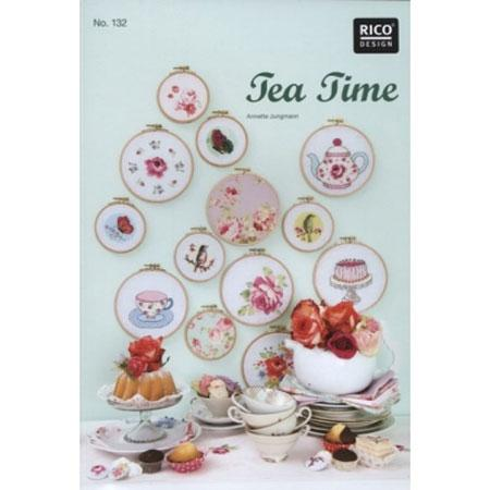 Cross Stitch Pattern Book - Tea Time