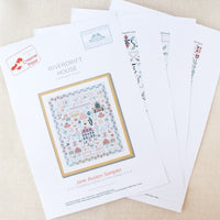 Jane Austen Sampler Cross Stitch Pattern