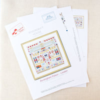 Buckingham Palace Sampler Cross Stitch Pattern