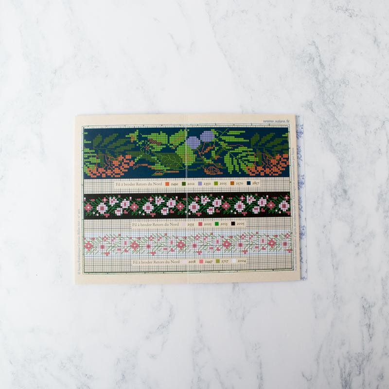 Maison Sajou Cross Stitch Design Album - Red No. 905