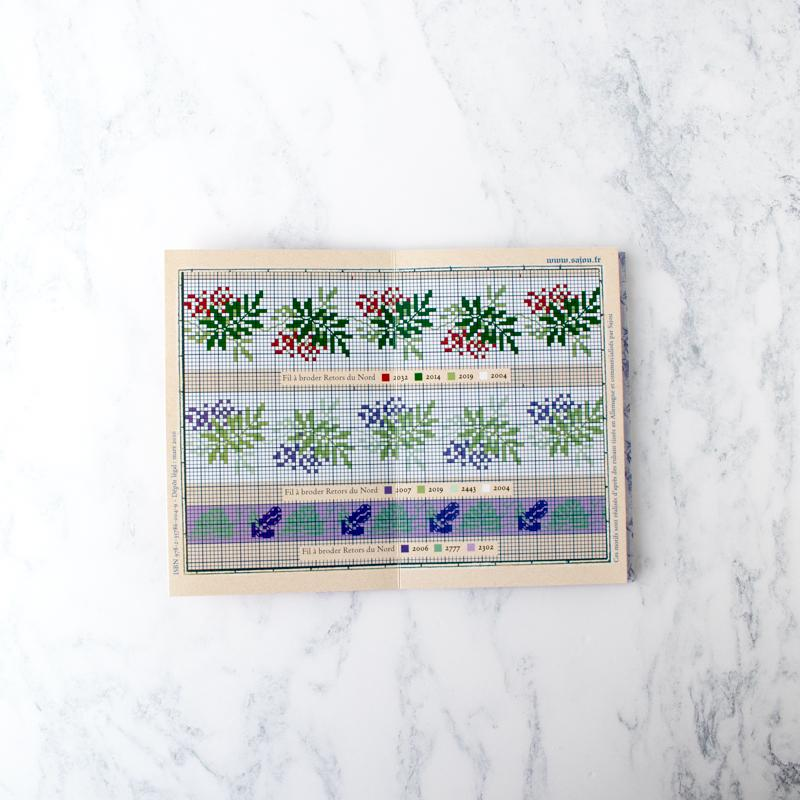 Maison Sajou Cross Stitch Design Album - Red No. 904