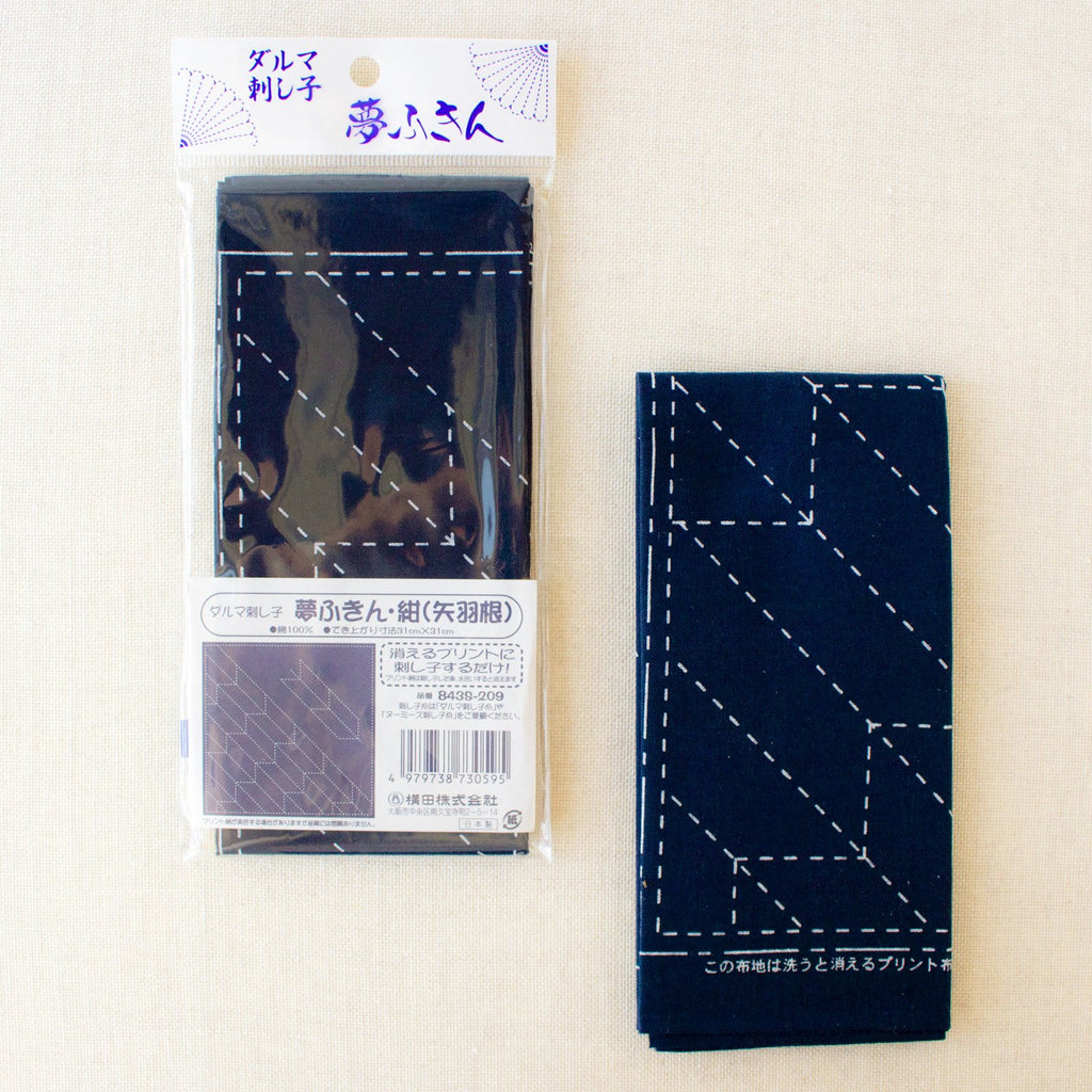 Colonial Needle Blue Feather Sashiko Needle Sampler 10 Per Package Assorted Sizes