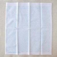 Japanese Sashiko White Sampler Cloth - Persimmon Flower