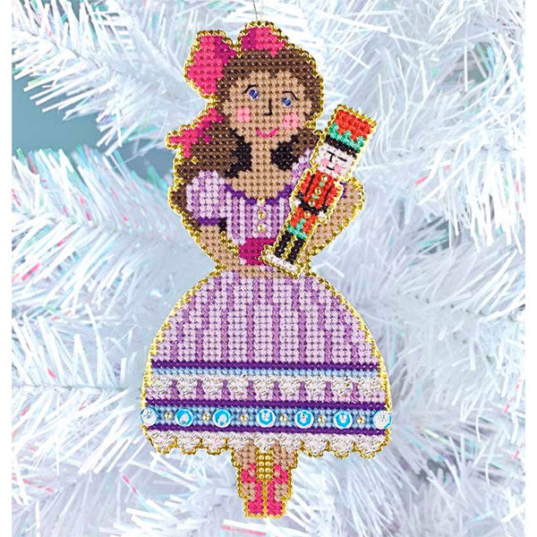 Nutcracker Suite Cross Stitch Ornament Kit - Clara