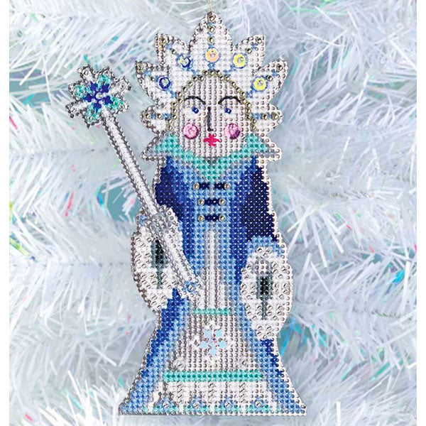 Nutcracker Suite Cross Stitch Ornament Kit - Snow Queen