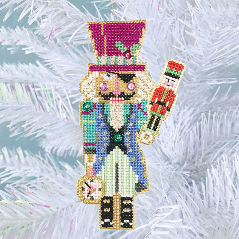 Nutcracker Suite Cross Stitch Ornament Kit - Drosselmeyer
