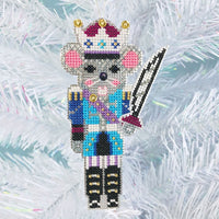 Nutcracker Suite Cross Stitch Ornament Kit - Mouse King