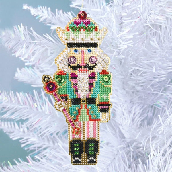 Nutcracker Suite Cross Stitch Ornament Kit - Nutcracker King