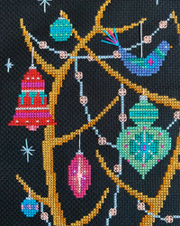 Oh Deer! Christmas Stocking Cross Stitch Pattern