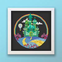 Emerald City Cross Stitch Pattern
