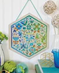 Garden Party Cross Stitch Pattern - Cool